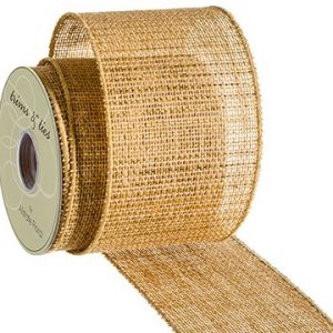 Ribbons, Burlap, Sheer Fabric